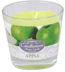 Sviečka sklo - aróma jablko 160 g - 4 ks