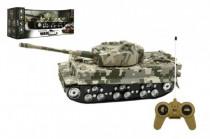 Tank RC plast 25cm na zotrvačník so zvukom so svetlom na batérie