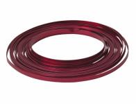 Drát dekorační hliníkový červený 10m 5mm