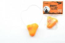 Čarodějnický nos plast 6cm v sáčku karneval