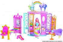 Barbie dúhový zámok