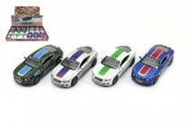Auto Kinsmart Bentley Continental GT Speed 12cm kov na spätné natiahnutie - mix farieb