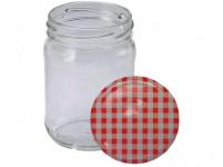 sklenice zavařovací 250ml TWIST 66 + víčka KANAFAS(10ks)