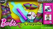 Barbie DIYcrayola magický vzor - mix variantov či farieb