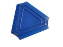 škrabka na ľad trojuholník 8x8x8cm plastová - mix farieb