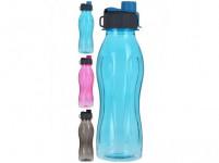 fľaša na pitie 600ml plastová, mix 3 farby
