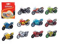 Motocykl Cross 6,5 cm - mix variant či barev