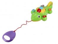 Zvukový chameleon - ťahacie