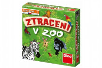 Ztraceni v Zoo společenská cestovní hra