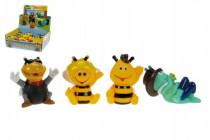 Stříkací zvířátka Včelka Mája gumová 6cm 6m+ - mix variant či barev