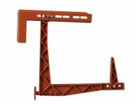 Box holder HERKULES balcony adjustable - VÝPREDAJ