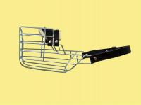Náhubok kovový Pudel, Jazvečík - pes, chróm 80 x 95 x 95 mm - VÝPREDAJ