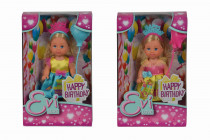 Bábika Evička Happy Birthday - mix variantov či farieb
