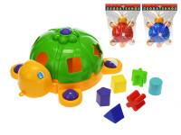 Vkládačka želva 32 cm - mix barev
