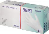 Rukavice latexové Bert - v krabičke (100 ks) veľ. 7