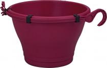 Elho kvetináč Corsica Hanging Basket - cherry 30 cm
