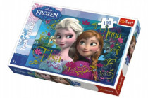 Puzzle Frozen/Ledové království 100 dílků 41x27,8cm