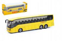 Autobus RegioJet kov / plast 18,5cm na spätné natiahnutie