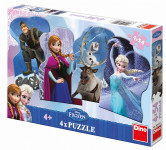 WD Frozen a přátelé 4x54D