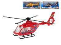 Helikoptéra 21 cm kov 1:72 - mix farieb