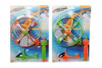 Vystreľovacie vrtuľník so svetlom - mix variantov či farieb