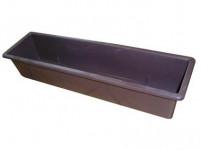 Truhlík hladký - hnedý 40 cm