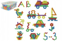 Kocky Puzzle plast 120ks v plastovom boxe Wader