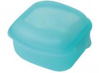 box s klick uzáverom EÚ 11x11x6cm (0,5l) plastový - mix farieb