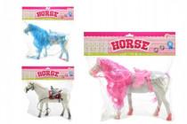 Kůň fliška 32cm - mix barev