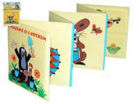 Rozkládací knížka Krtek plast 12x12cm