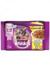 Whiskas kapsa Casserole Junior hydinové v želé 4x85g
