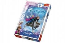 Puzzle Frozen / Ľadové kráľovstvo 100 dielikov 27,5x41cm