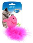 Hračka cat bavlna Myš s chvostíkom dôvo + 10 x 6 x 4 cm