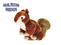 Veverička plyšová 28 cm