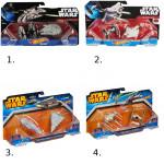 Hot Wheels Star Wars 2ks hviezdna loď - mix variantov či farieb