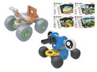Stavebnica vozidlo skrutkovacie 17-24 dielikov - mix variantov či farieb