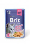 Brit Premium Cat D Fillets in Jelly with Chicken 85g