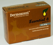 Essential 6 spot-on for dogs 10-20kg 1,2mlx4