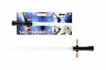 Meč svítící plast 55cm na baterie se zvukem se světlem