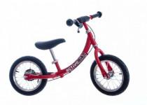 """Odrážadlo červené kov 12 """"nosnosť 30kg Active Bike"""