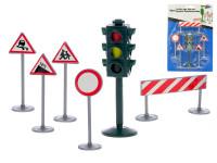 Sada dopravného značenia sa semaforom 6 ks