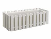 Truhlík Fence plastový biely 75cm