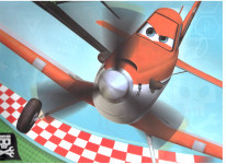 Dárková taška dětská XL- Letadla