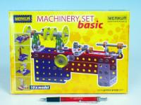 Stavebnica MERKUR Machinery set Basic 10 modelov