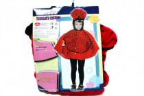 Karnevalový kostým Lienka plyš 3-4 rokov v sáčku karneval