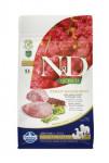 N & D GF Quinoa DOG Weight Mngmnt Lamb & Broccoli 800g
