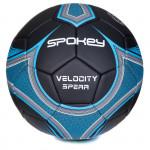 Spokey Velocity Spear fotbalový míč černo-modrý vel. 5