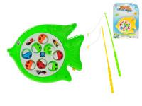 Hra ryby 19x15 cm na batérie - mix farieb