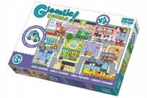 Puzzle zvieratká Gigantic Mesto