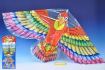 Drak létající plast 62x118cm - mix variant či barev